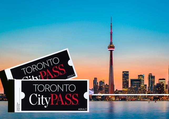 Toronto CityPASS – Best of : accès aux 5 meilleures attractions de la ville – Billets coupe-file - Toronto -