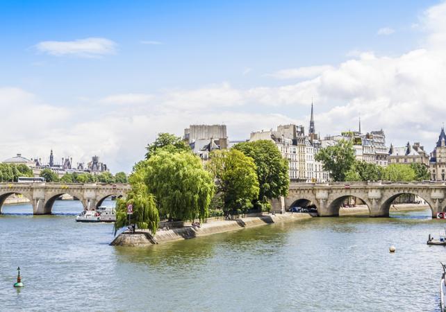 Visite guidée à pied de l'île de la Cité - Paris -