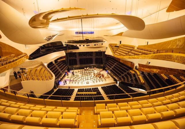 Visite guidée de la Cité de la Musique : La Philharmonie de Paris