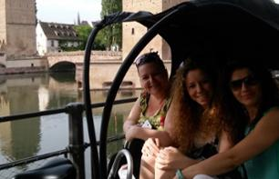 Rickshaw tour of Strasbourg's old town and the German imperial district