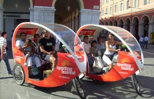 Tricycle tour of Nice: 1 hour