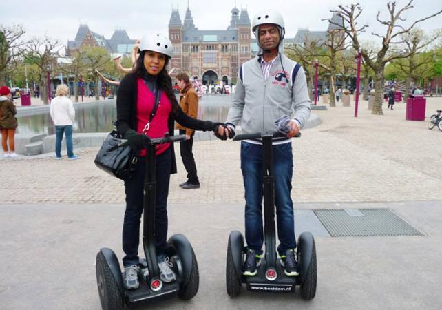 Photo Visite guidée d'Amsterdam en Segway