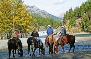 Horse Ride in the Canadian Rockies – Day trip departing from Banff