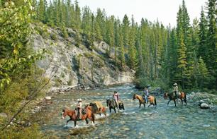 Horse Riding for Advanced Riders in the Canadian Rockies – Departing from Banff