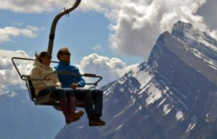 Scenic Chairlift Ride in the Canadian Rockies – Departing from Banff
