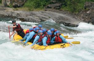 White Water Rafting in the Canadian Rockies – Intermediate
