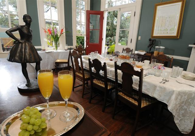 Matinée culturelle : visite de la Maison d'Edgar Degas et petit-déjeuner créole - La Nouvelle-Orléans -