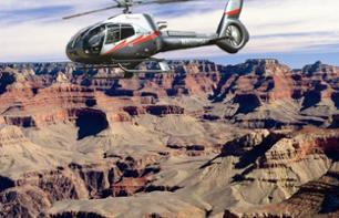 Excursion to the Grand Canyon: Helicopter flight and guided tour of the South Rim – Departing from Phoenix