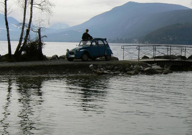 balades en 2 cv   balade autour du lac d u2019annecy en 2cv