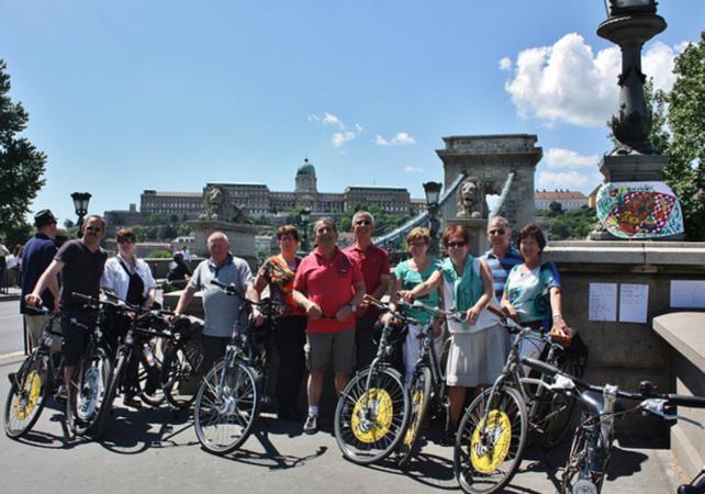 Visite de Budapest en vélo en soirée - Budapest -