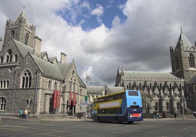 Pass 3 jours : visite de Dublin en bus à arrêts multiples et transports en commun illimités - Dublin -