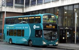 Shuttle Transfer from the City Centre to Dublin Airport