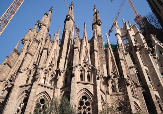 Visite guidée de Barcelone en vélo électrique et billet coupe-file pour la Sagrada Familia - Barcelone -