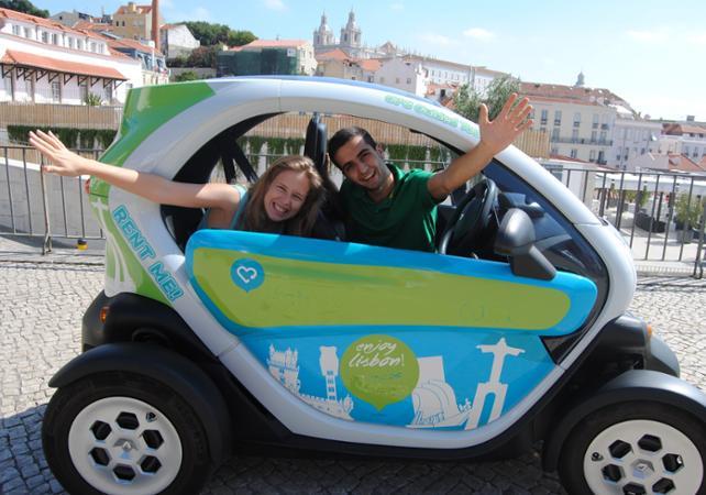 Visite du vieux Lisbonne en voiture électrique avec GPS - Lisbonne -