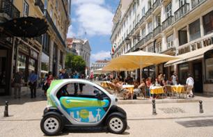 Tour of Lisbon and Baixa District by Electric Car