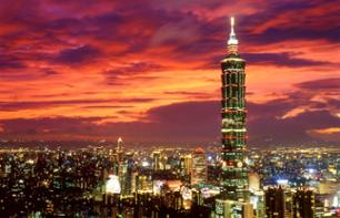 An evening in Taipei