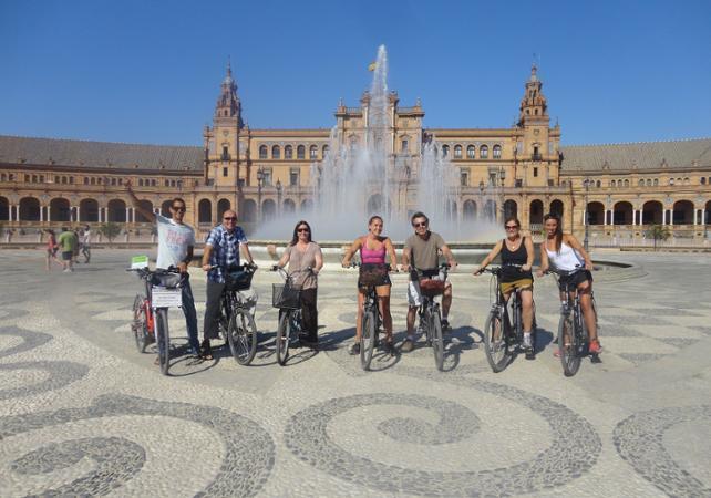 Tour guidé de Séville à vélo électrique - Séville -