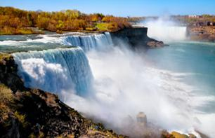 2-Day Excursion from New York: Niagara Falls & Outlet Shopping