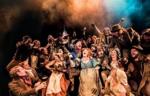 Dîner spectacle Les Misérables à Londres