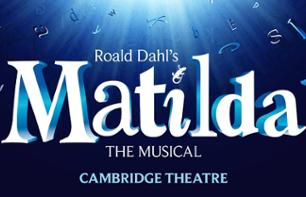 Ticket für das Musical Matilda in London