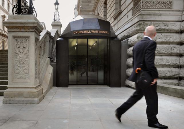 Photo Churchill War Rooms - Le bunker secret de la Seconde Guerre Mondiale - Londres