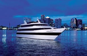 Romantic evening: VIP dinner cruise in Boston Bay
