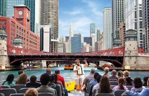 Chicago River & Lake Michigan Cruise: Discover Chicago's architecture!