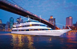Cena crociera a bordo di uno yacht a New York