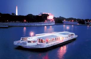 Romantic evening in Washington, DC: VIP dinner cruise on the river Potomac
