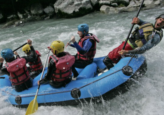 Descente de l'Isère en rafting - Annecy -