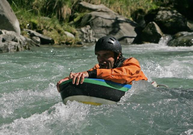 Parcours des gorges de l'Isère en hydrospeed - Annecy -