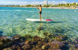 Paddle Board Rental - 1 or 2 Hours - Cambrils or Salou (Costa Daurada)