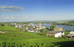 The Rhine Valley: Bus excursion, river cruise & traditional dinner