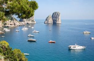 Private Boat Excursion around the Island of Capri
