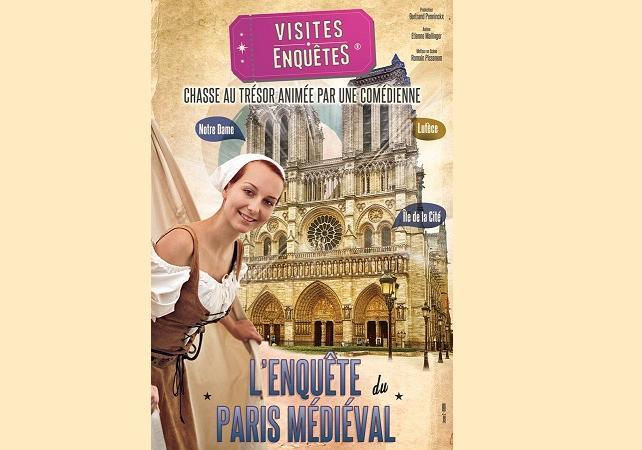 Visite-enquête du Paris médiéval - Jeu de piste avec un comédien - Paris -