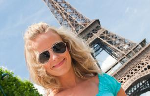 Billets Tour Eiffel coupe file avec guide (en anglais exclusivement)