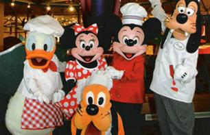 Dinner with Mickey and his friends - VIP limousine transport