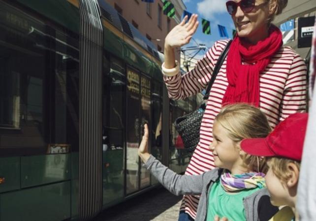 Photo Visite guidée d'Helsinki en tramway – tour avec guide privé