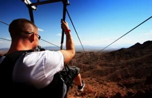 Zipline Trip to Bootleg Canyon
