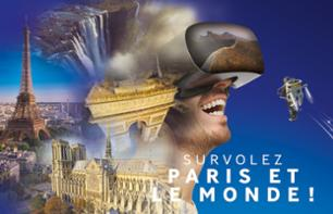 FlyView ticket - Virtual flight over Paris with virtual reality headset