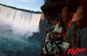 """FlyOver Canada"": Standard or priority-access ticket for Vancouver's famous 4D cinema"