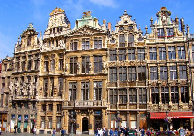 Visite privée de Bruxelles en voiture et à pied - départ/retour hôtel image 3