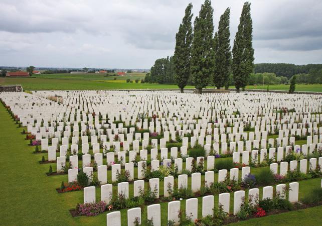 Excursion privée sur les champs de bataille des Flandres - au départ de votre hôtel de Bruxelles image 3