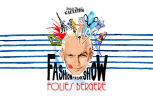 "Ticket to ""The Fashion Freak Show"" by Jean Paul Gaultier - Folies Bergère"