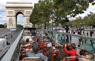 Tour Paris en bus en journée - 40 monuments et attractions - 2H