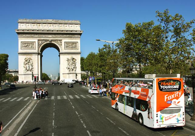 Tour Paris en bus en journée - 40 monuments et attractions ! - new-paris -