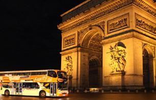 Paris night Tour - 40 attractions et monuments illuminés !