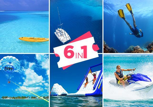 Photo Key West Ultimate Adventure : Croisière, Plongée, Kayak, Parc aquatique, Parachute ascensionnel et Jet ski