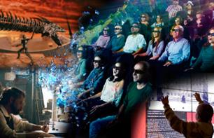 4D Gaudi Experience ticket - Dynamic cinema - Barcelona