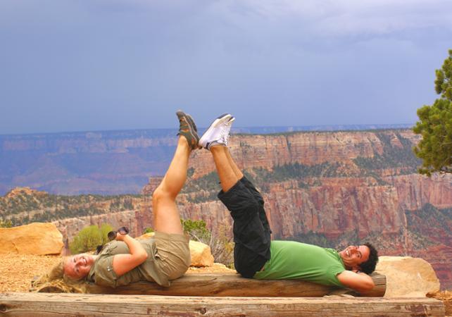 Excursion au Grand Canyon North Rim avec escale à Frontier Town - Au départ de Las Vegas - Las Vegas -